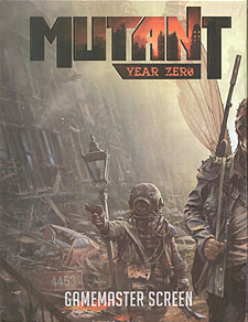 Spirit Games (Est. 1984) - Supplying role playing games (RPG), wargames rules, miniatures and scenery, new and traditional board and card games for the last 20 years sells Mutant: Year Zero Gamemaster Screen