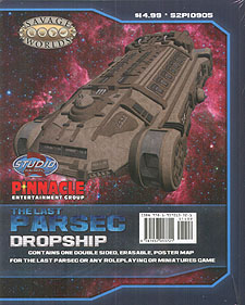 Spirit Games (Est. 1984) - Supplying role playing games (RPG), wargames rules, miniatures and scenery, new and traditional board and card games for the last 20 years sells The Last Parsec: Dropship/Freighter