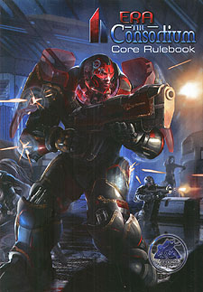 Spirit Games (Est. 1984) - Supplying role playing games (RPG), wargames rules, miniatures and scenery, new and traditional board and card games for the last 20 years sells Era: The Consortium Core Rulebook Hardback