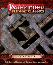 Spirit Games (Est. 1984) - Supplying role playing games (RPG), wargames rules, miniatures and scenery, new and traditional board and card games for the last 20 years sells Pathfinder Flip-Mat Classics: City Streets