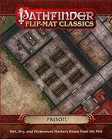 Spirit Games (Est. 1984) - Supplying role playing games (RPG), wargames rules, miniatures and scenery, new and traditional board and card games for the last 20 years sells Pathfinder Flip-Mat Classics: Prison