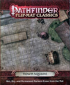 Spirit Games (Est. 1984) - Supplying role playing games (RPG), wargames rules, miniatures and scenery, new and traditional board and card games for the last 20 years sells Pathfinder Flip-Mat Classics: Town Square