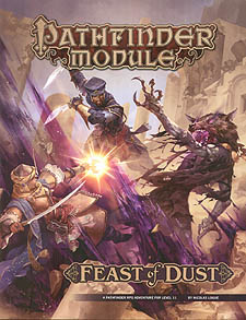 Spirit Games (Est. 1984) - Supplying role playing games (RPG), wargames rules, miniatures and scenery, new and traditional board and card games for the last 20 years sells Pathfinder Module: Feast of Dust