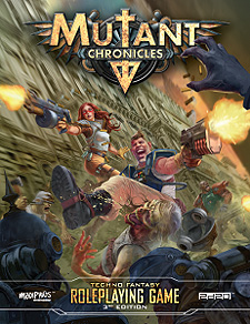 Spirit Games (Est. 1984) - Supplying role playing games (RPG), wargames rules, miniatures and scenery, new and traditional board and card games for the last 20 years sells Mutant Chronicles 3rd Edition: RPG