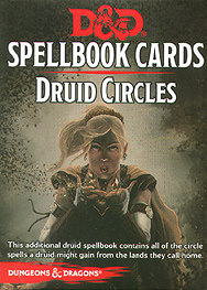 Spirit Games (Est. 1984) - Supplying role playing games (RPG), wargames rules, miniatures and scenery, new and traditional board and card games for the last 20 years sells Spellbook Cards: Druid Circles