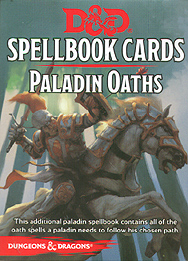 Spirit Games (Est. 1984) - Supplying role playing games (RPG), wargames rules, miniatures and scenery, new and traditional board and card games for the last 20 years sells Spellbook Cards: Paladin Oaths
