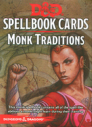 Spirit Games (Est. 1984) - Supplying role playing games (RPG), wargames rules, miniatures and scenery, new and traditional board and card games for the last 20 years sells Spellbook Cards: Monk Traditions