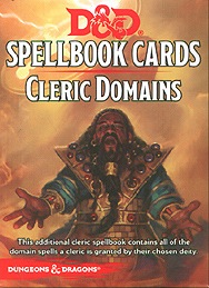 Spirit Games (Est. 1984) - Supplying role playing games (RPG), wargames rules, miniatures and scenery, new and traditional board and card games for the last 20 years sells Spellbook Cards: Cleric Domains