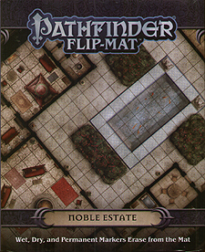 Spirit Games (Est. 1984) - Supplying role playing games (RPG), wargames rules, miniatures and scenery, new and traditional board and card games for the last 20 years sells Pathfinder Flip-Mat: Noble Estate