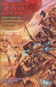 Spirit Games (Est. 1984) - Supplying role playing games (RPG), wargames rules, miniatures and scenery, new and traditional board and card games for the last 20 years sells Dungeon Crawl Classics 84.2: Synthetic Swordsmen of the Purple planet