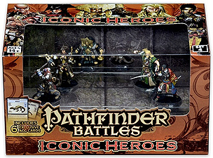 Spirit Games (Est. 1984) - Supplying role playing games (RPG), wargames rules, miniatures and scenery, new and traditional board and card games for the last 20 years sells Pathfinder Battles: Iconic Heroes Set 4
