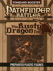 Spirit Games (Est. 1984) - Supplying role playing games (RPG), wargames rules, miniatures and scenery, new and traditional board and card games for the last 20 years sells Pathfinder Battles: The Rusty Dragon Inn Standard Booster