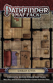 Spirit Games (Est. 1984) - Supplying role playing games (RPG), wargames rules, miniatures and scenery, new and traditional board and card games for the last 20 years sells Pathfinder Map Pack: Urban Sites