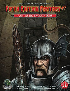 Spirit Games (Est. 1984) - Supplying role playing games (RPG), wargames rules, miniatures and scenery, new and traditional board and card games for the last 20 years sells Fifth Edition Fantasy #7: Fantastic Encounters