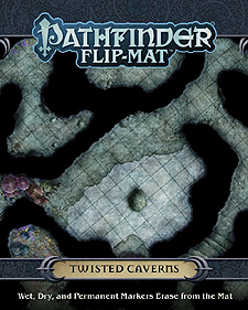 Spirit Games (Est. 1984) - Supplying role playing games (RPG), wargames rules, miniatures and scenery, new and traditional board and card games for the last 20 years sells Pathfinder Flip-Mat: Twisted Caverns
