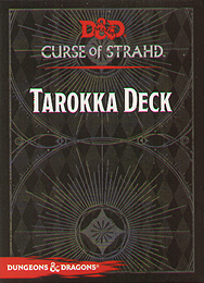 Spirit Games (Est. 1984) - Supplying role playing games (RPG), wargames rules, miniatures and scenery, new and traditional board and card games for the last 20 years sells Curse of Strahd (5th Ed): Tarokka Deck