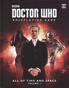 Spirit Games (Est. 1984) - Supplying role playing games (RPG), wargames rules, miniatures and scenery, new and traditional board and card games for the last 20 years sells Doctor Who: All of Time and Space Volume 1