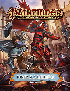 Spirit Games (Est. 1984) - Supplying role playing games (RPG), wargames rules, miniatures and scenery, new and traditional board and card games for the last 20 years sells Pathfinder Campaign Setting: Inner Sea Intrigue