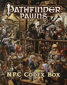 Spirit Games (Est. 1984) - Supplying role playing games (RPG), wargames rules, miniatures and scenery, new and traditional board and card games for the last 20 years sells Pathfinder Pawns: NPC Codex Box
