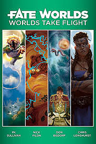 Spirit Games (Est. 1984) - Supplying role playing games (RPG), wargames rules, miniatures and scenery, new and traditional board and card games for the last 20 years sells Fate Worlds: Worlds Take Flight