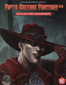 Spirit Games (Est. 1984) - Supplying role playing games (RPG), wargames rules, miniatures and scenery, new and traditional board and card games for the last 20 years sells Fifth Edition Fantasy #8: Eye of the Leviathan