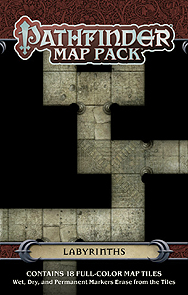 Spirit Games (Est. 1984) - Supplying role playing games (RPG), wargames rules, miniatures and scenery, new and traditional board and card games for the last 20 years sells Pathfinder Map Pack: Labyrinths