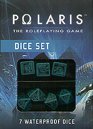 Spirit Games (Est. 1984) - Supplying role playing games (RPG), wargames rules, miniatures and scenery, new and traditional board and card games for the last 20 years sells Polaris Dice Set