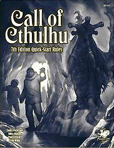 Spirit Games (Est. 1984) - Supplying role playing games (RPG), wargames rules, miniatures and scenery, new and traditional board and card games for the last 20 years sells Call of Cthulhu Seventh Edition Quick-Start Rules