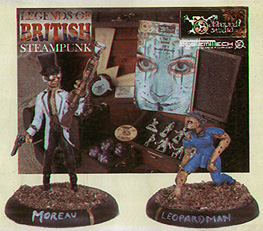 Spirit Games (Est. 1984) - Supplying role playing games (RPG), wargames rules, miniatures and scenery, new and traditional board and card games for the last 20 years sells The Island of Doctor Moreau Starter Box