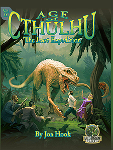 Spirit Games (Est. 1984) - Supplying role playing games (RPG), wargames rules, miniatures and scenery, new and traditional board and card games for the last 20 years sells Age of Cthulhu Vol IX: The Lost Expedition