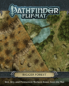 Spirit Games (Est. 1984) - Supplying role playing games (RPG), wargames rules, miniatures and scenery, new and traditional board and card games for the last 20 years sells Pathfinder Flip-Mat: Bigger Forest