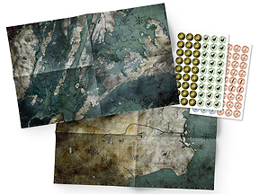 Spirit Games (Est. 1984) - Supplying role playing games (RPG), wargames rules, miniatures and scenery, new and traditional board and card games for the last 20 years sells Mutant: Year Zero Maps and Markers Pack