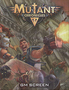 Spirit Games (Est. 1984) - Supplying role playing games (RPG), wargames rules, miniatures and scenery, new and traditional board and card games for the last 20 years sells Mutant Chronicles 3rd Edition: GM Screen
