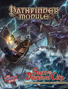 Spirit Games (Est. 1984) - Supplying role playing games (RPG), wargames rules, miniatures and scenery, new and traditional board and card games for the last 20 years sells Pathfinder Module: Seers of the Drowned City