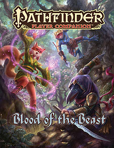 Spirit Games (Est. 1984) - Supplying role playing games (RPG), wargames rules, miniatures and scenery, new and traditional board and card games for the last 20 years sells Pathfinder Player Companion: Blood of the Beast