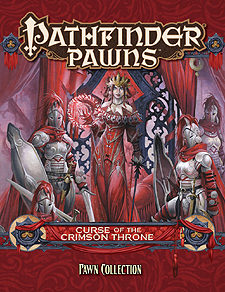 Spirit Games (Est. 1984) - Supplying role playing games (RPG), wargames rules, miniatures and scenery, new and traditional board and card games for the last 20 years sells Pathfinder Pawns: Curse of the Crimson Throne Pawn Collection