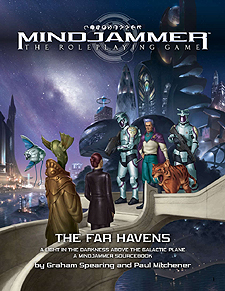 Spirit Games (Est. 1984) - Supplying role playing games (RPG), wargames rules, miniatures and scenery, new and traditional board and card games for the last 20 years sells Mindjammer: The Far Havens