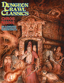 Spirit Games (Est. 1984) - Supplying role playing games (RPG), wargames rules, miniatures and scenery, new and traditional board and card games for the last 20 years sells Dungeon Crawl Classics 89: Chaos Rising