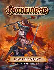 Spirit Games (Est. 1984) - Supplying role playing games (RPG), wargames rules, miniatures and scenery, new and traditional board and card games for the last 20 years sells Pathfinder Campaign Setting: Lands of Conflict
