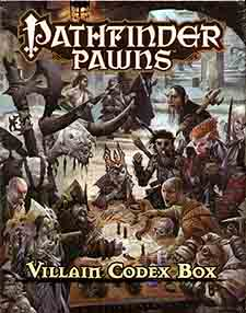 Spirit Games (Est. 1984) - Supplying role playing games (RPG), wargames rules, miniatures and scenery, new and traditional board and card games for the last 20 years sells Pathfinder Pawns: Villain Codex Box