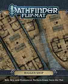 Spirit Games (Est. 1984) - Supplying role playing games (RPG), wargames rules, miniatures and scenery, new and traditional board and card games for the last 20 years sells Pathfinder Flip-Mat: Bigger Ship