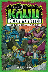 Spirit Games (Est. 1984) - Supplying role playing games (RPG), wargames rules, miniatures and scenery, new and traditional board and card games for the last 20 years sells Kaiju Incorporated: The Roleplaying Game