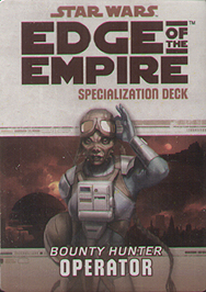 Spirit Games (Est. 1984) - Supplying role playing games (RPG), wargames rules, miniatures and scenery, new and traditional board and card games for the last 20 years sells Bounty Hunter: Operator Specialization Deck