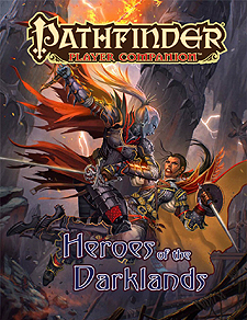 Spirit Games (Est. 1984) - Supplying role playing games (RPG), wargames rules, miniatures and scenery, new and traditional board and card games for the last 20 years sells Pathfinder Player Companion: Heroes of the Darklands