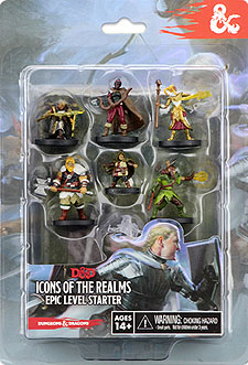 Spirit Games (Est. 1984) - Supplying role playing games (RPG), wargames rules, miniatures and scenery, new and traditional board and card games for the last 20 years sells Dungeons and Dragons Fantasy Miniatures Icons of the Realms: Epic Level Starter