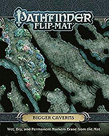 Spirit Games (Est. 1984) - Supplying role playing games (RPG), wargames rules, miniatures and scenery, new and traditional board and card games for the last 20 years sells Pathfinder Flip-Mat: Bigger Caverns