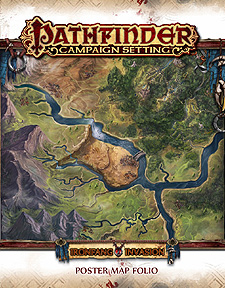 Spirit Games (Est. 1984) - Supplying role playing games (RPG), wargames rules, miniatures and scenery, new and traditional board and card games for the last 20 years sells Pathfinder Campaign Setting: Ironfang Invasion Poster Map Folio