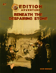 Spirit Games (Est. 1984) - Supplying role playing games (RPG), wargames rules, miniatures and scenery, new and traditional board and card games for the last 20 years sells 5th Edition Adventure: Beneath the Despairing Stone A7