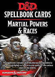 Spirit Games (Est. 1984) - Supplying role playing games (RPG), wargames rules, miniatures and scenery, new and traditional board and card games for the last 20 years sells Spellbook Cards: Martial Powers and Races