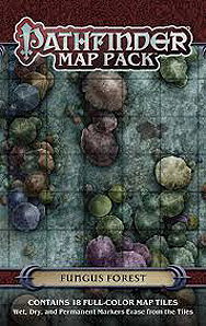 Spirit Games (Est. 1984) - Supplying role playing games (RPG), wargames rules, miniatures and scenery, new and traditional board and card games for the last 20 years sells Pathfinder Map Pack: Fungus Forest